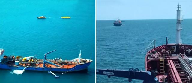 Πετρελαιοκηλίδες στη θάλασσα: Επιχειρησιακή άσκηση με τη συμμετοχή του ΕMSA