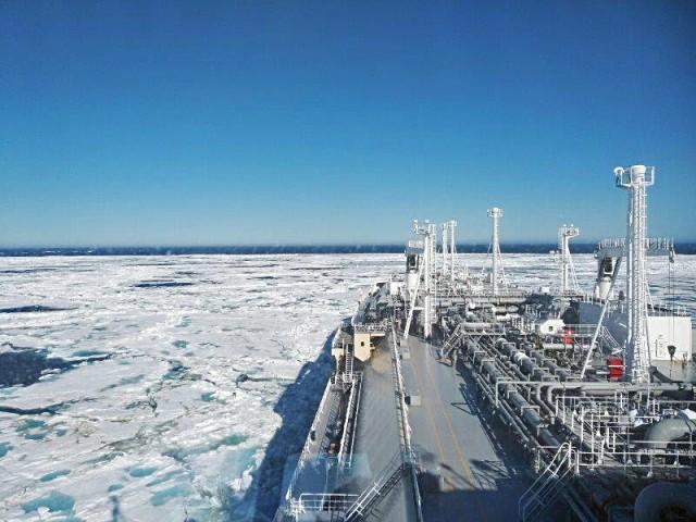 Το πρώτο παγοθραυστικό πλοίο μεταφοράς LNG στην Ιαπωνία