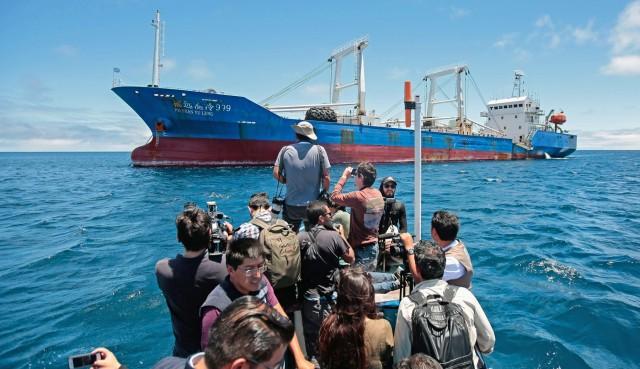 SOS από τη θαλάσσια πανίδα των νησιών Γκαλαπάγκος