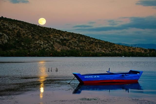 Πανσέληνος στη Χίο και τα Ψαρά