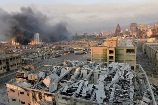 Μεγάλη έκρηξη στο λιμάνι της Βηρυτού