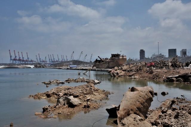 Σταδιακή επαναλειτουργία του λιμένα της Βηρυτού
