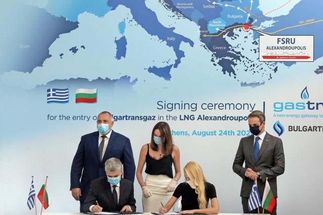 Ελλάδα-Βουλγαρία: Έπεσαν οι υπογραφές για τον τερματικό LNG στην Αλεξανδρούπολη