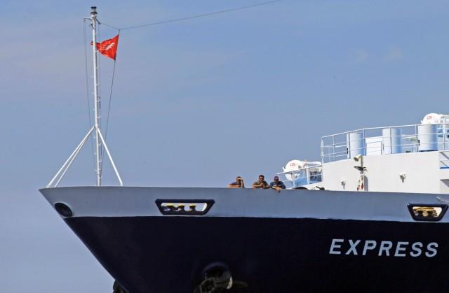 Πρόσκρουση Ε/Γ-Ο/Γ πλοίου σε βραχονησίδα