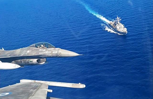 Κοινή αεροναυτική άσκηση Ελλάδας-ΗΠΑ (βίντεο)
