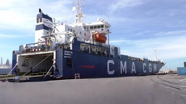 Ένα πλοίο ανθρωπιστικής βοήθειας στον Λίβανο
