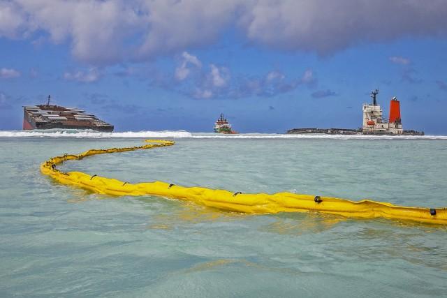 Πετρελαιοκηλίδα στον Μαυρίκιο: Σε κίνδυνο η βιοποικιλότητα