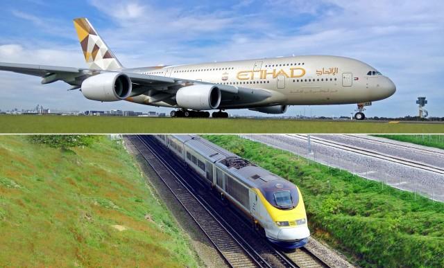 Η Etihad Airways με το βλέμμα στα τρένα