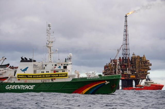 Greenpeace κατά πετρελαϊκών εταιρειών