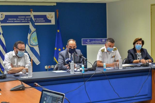 Όλα όσα δήλωσε ο υπουργός Ναυτιλίας για την ασφάλεια στη θάλασσα και την προστασία των πολιτών