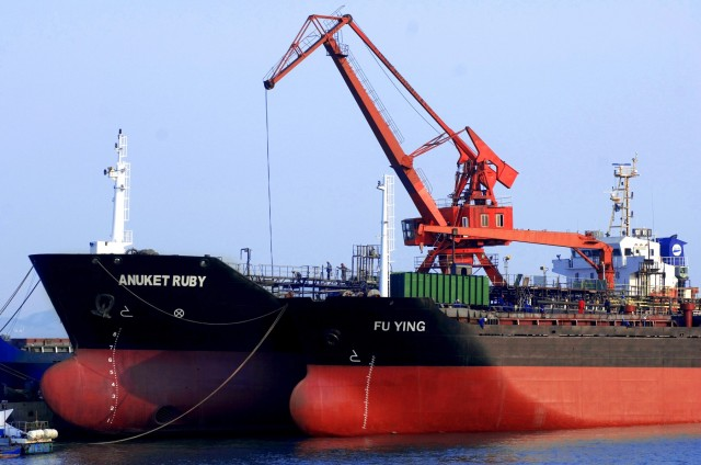 Άνοδος για τις κινεζικές εισαγωγές πετρελαίου