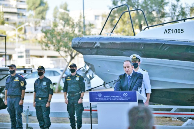Με ακόμη δύο υπερσύγχρονα περιπολικά σκάφη ενισχύεται το Λιμενικό Σώμα