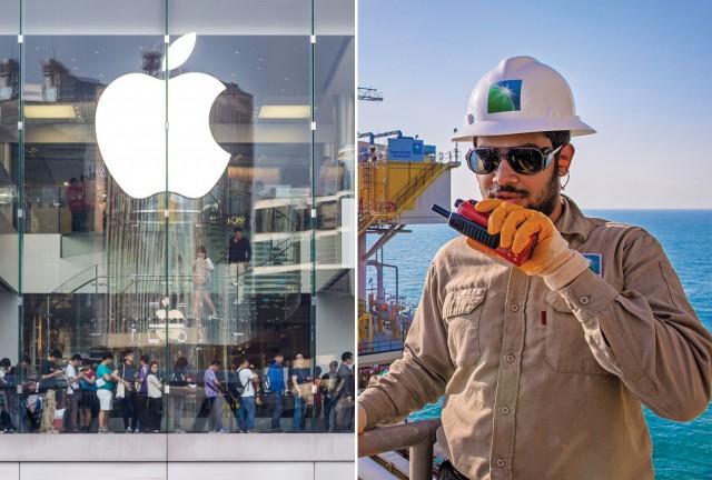 Η Saudi Aramco «εκθρονίζει» την Apple