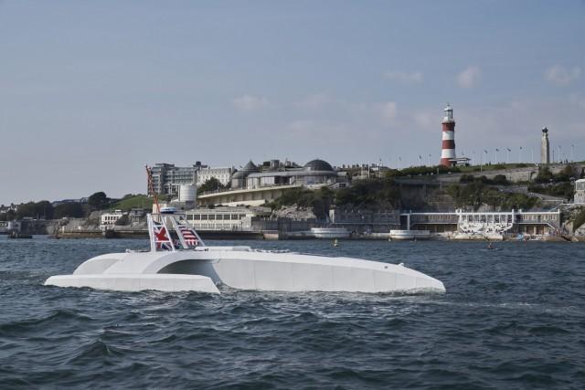 Στο νερό το πλήρως αυτόνομο πλοίο «Mayflower»