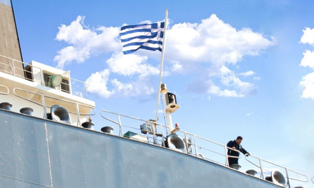 Μειωμένη κατά 2,2% η δύναμη του ελληνικού εμπορικού στόλου