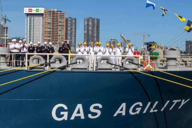 Το μεγαλύτερο πλοίο LNG bunkering στον κόσμο