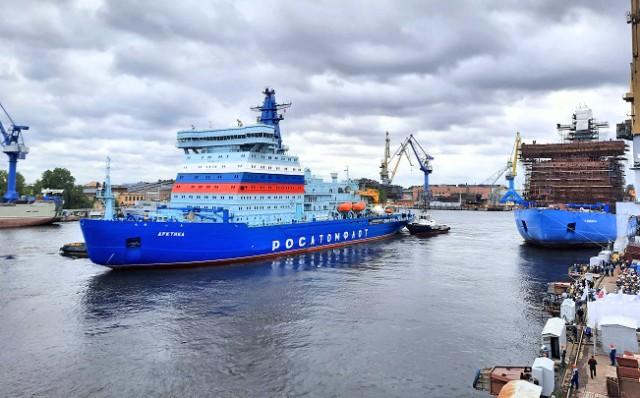 Το μεγαλύτερο παγοθραυστικό πλοίο πυρηνικής ενέργειας του κόσμου