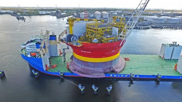 Το μεγαλύτερο heavy lift vessel στην Ευρώπη εξοπλίζεται με ΒWMS