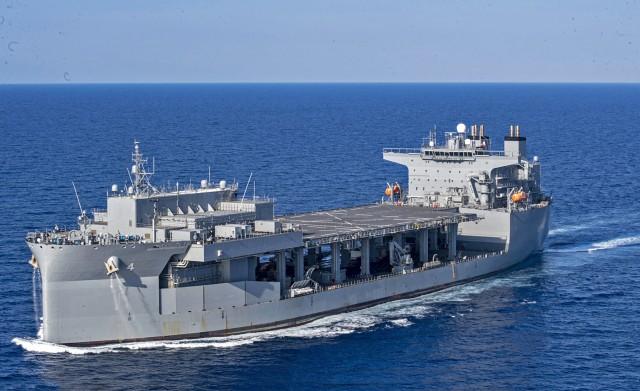 USS Hershel Woody Williams: Ένα γιγαντιαίο πλοίο στη Σούδα