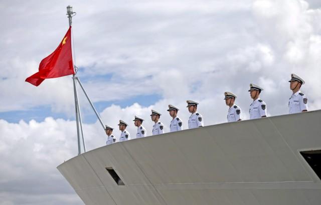 Κίνα: Στρατιωτική παρουσία σε τέσσερις θάλασσες