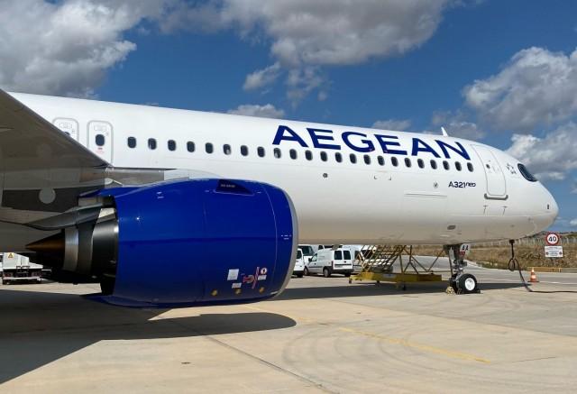 Το πρώτο Α321 neo παρέλαβε η Aegean Airlines