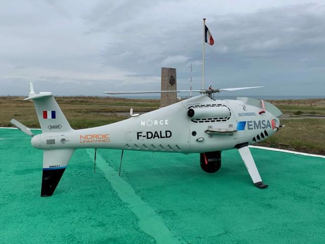 Drones για τον έλεγχο εκπομπών από τα πλοία στη Γαλλία