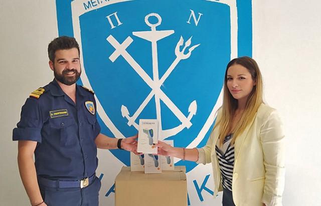C&A Stavros Kassidiaris: Σημαντική χορηγία στο Πολεμικό Ναυτικό