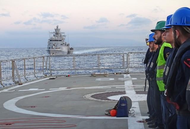 Συνεκπαίδευση Μονάδων Πολεμικού Ναυτικού Ελλάδας και Γερμανίας