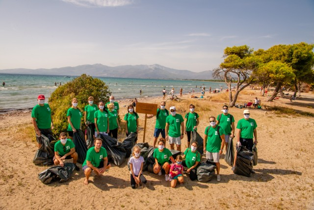 H Franman συμμετέχει στον Παγκόσμιο Εθελοντικό Καθαρισμό Ακτών στην Ελλάδα