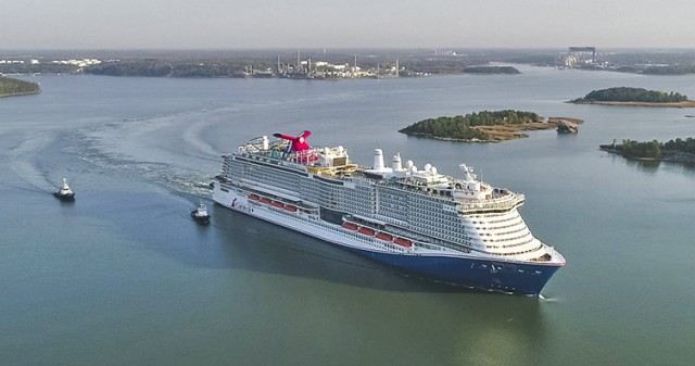 Carnival Cruise Line: Το μεγαλύτερο κρουαζιερόπλοιο καύσης LNG στον στόλο της
