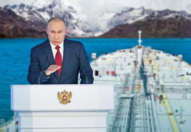 Ρωσία: Ανοδική πορεία για τις εξαγωγές πετρελαίου