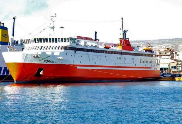 Μηχανική βλάβη σε επιβατηγό πλοίο
