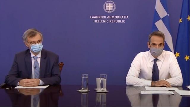 Κ. Μητσοτάκης: Σε νέο lockdown η χώρα