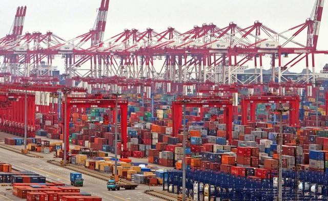 Λιμάνι Σαγκάης: Νέο ρεκόρ διακίνησης εμπορευματοκιβωτίων