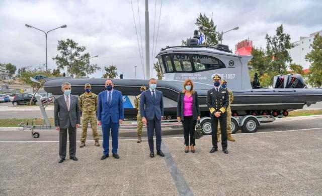 Στη Σάμο το νέο περιπολικό σκάφος, δωρεά Chandris Hellas και ΝJ Goulandris