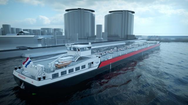 Παραγγελία κατασκευής 40 φορτηγίδων από την J.P. Morgan στα ναυπηγεία Concordia Damen