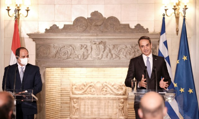 K. Mητσοτάκης: Παράδειγμα ειρήνης η συμφωνία Ελλάδας-Αιγύπτου για τις θαλάσσιες ζώνες