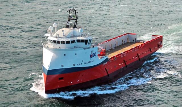 Η πρώτη υβριδική αναβάθμιση πλοίου παράκτιας υποστήριξης