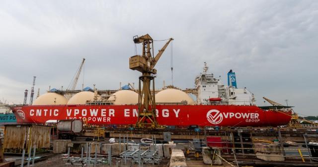Μετασκευή LNG πλοίου σε FSU υπό τη διαχείριση της Synergy Group