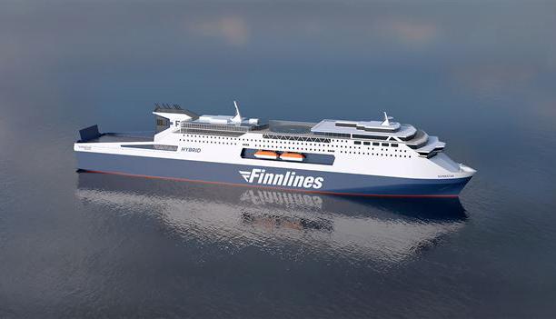 Finnlines: Έναρξη ναυπήγησης δύο υπερσύγχρονων επιβατηγών πλοίων