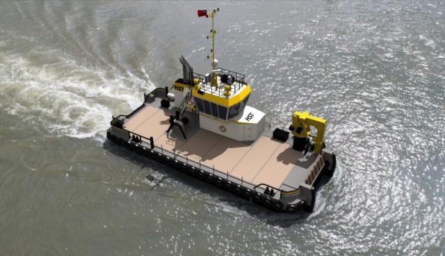 Στα σκαριά η κατασκευή πλοίου παράκτιας υποστήριξης προηγμένης σχεδίασης