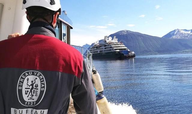 Πιστοποίηση κρουαζιερόπλοιου για χαμηλή θαλάσσια ηχητική ακτινοβολία