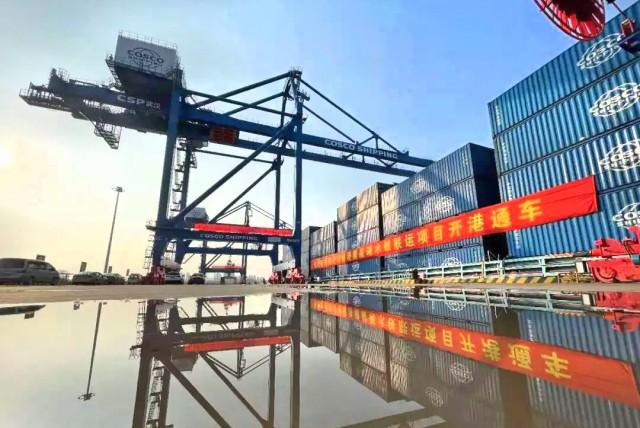 Cosco Shipping Ports: Νέο «έξυπνο» διατροπικό τερματικό στον ποταμό Yangtze