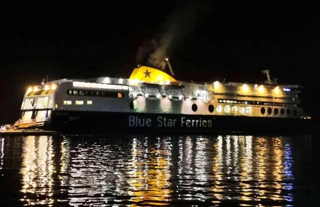 Το πρώτο πλοίο που «έδεσε» στο λιμάνι του Πειραιά για το 2021