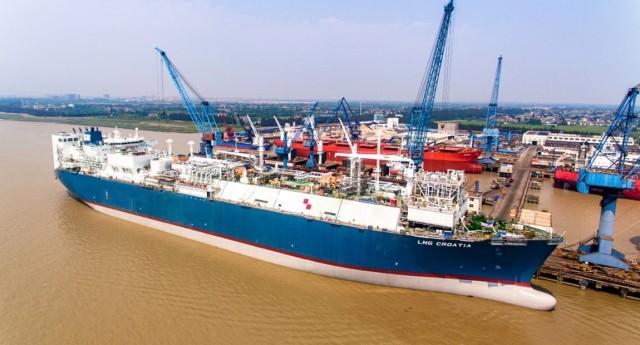 Golar LNG: Πώληση του FSRU «LNG Croatia»