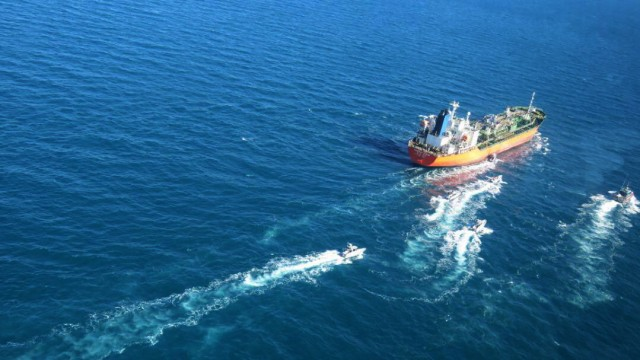 Iran seized South Korean flagged tanker