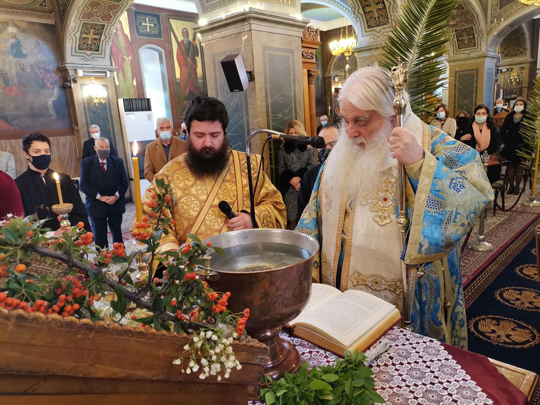 Αγιασμός Υδάτων στον Ι.Ν. του Αγίου Πέτρου Άργους