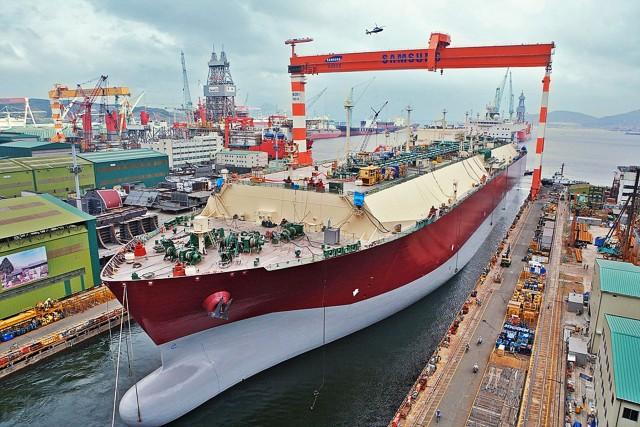 Samsung Heavy Industries Co.: Ποδαρικό στο 2021 με νέα παραγγελία LNG carrier