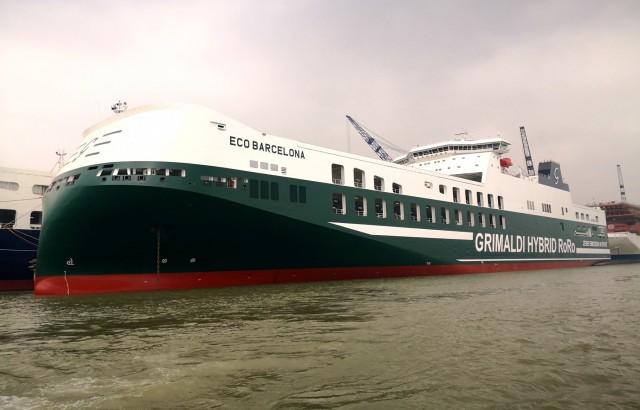 Grimaldi: Tα υβριδικά Ro-Ro του στόλου της