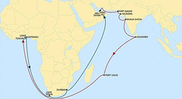 Νέα απευθείας τακτική γραμμή μεταξύ Ινδίας και Δυτικής Αφρικής